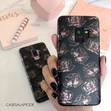 Rose Gold Floral Samsung Phone Case  - CASES A LA MODE