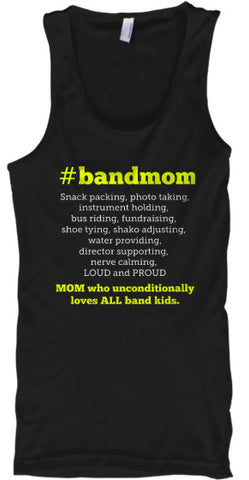 #bandmom Tank Top