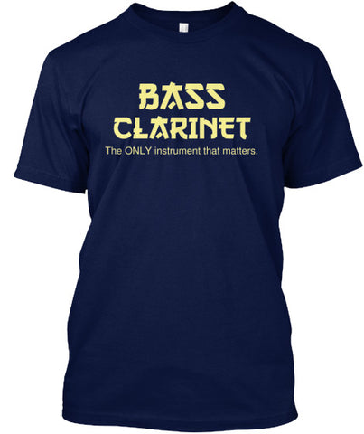 Bass Clarinet - The ONLY instrument that matters