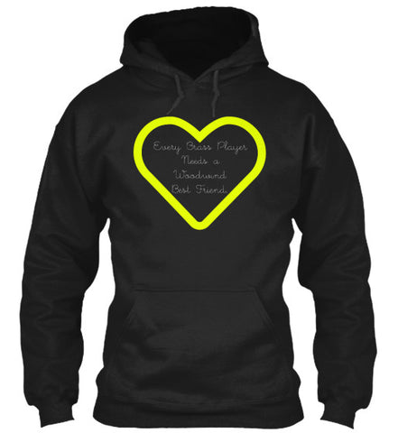 Every Brass Player Needs A Woodwind Best Friend - Hoodie