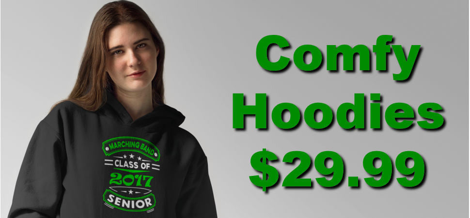 Comfy Hoodies - Only $29.99!