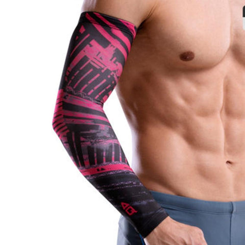AQ F28003 Compression Arm Sleeve | Toby's Sports