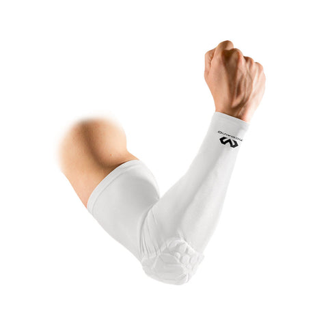 McDavid White 6500 Armsleeve | Toby's Sports
