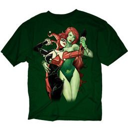 Harley Quinn and Poison Ivy Shirt