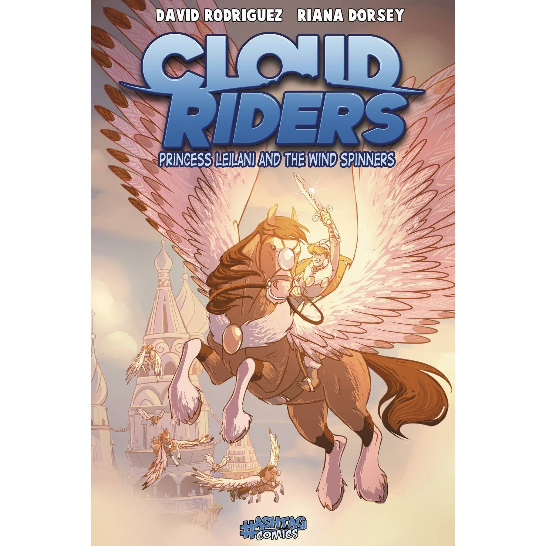 Cloud Riders Vol. 3 Princess Leilani and the Wind Spinners TP