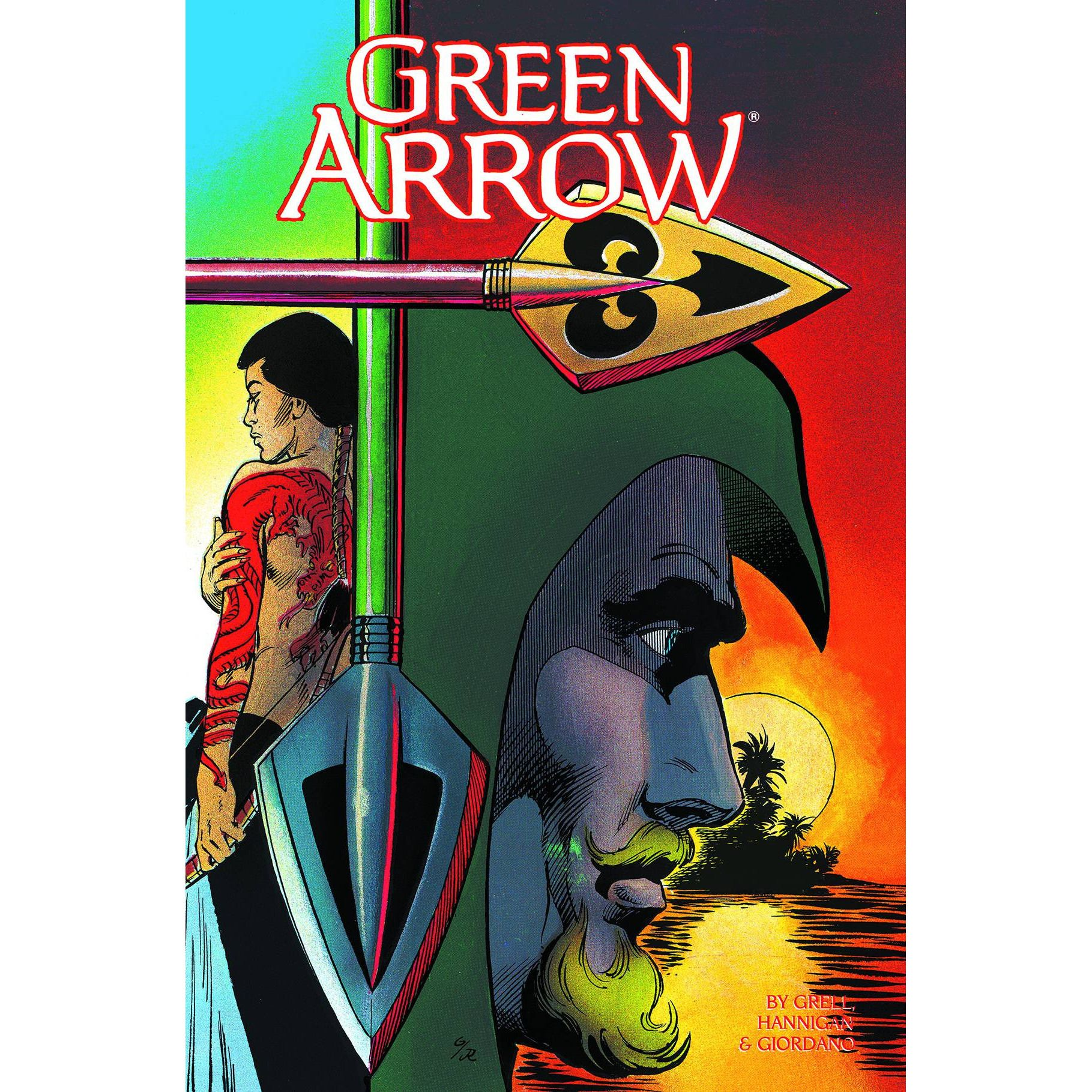 Green Arrow TP Vol 02 Here There Be Dragons Uncanny!