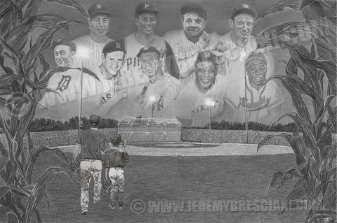 "FAMILY ""Field of Dreams"" Limited Edition Print PERSONALIZED for FREE"