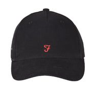 Boy's Farah Core Canvas Cap Black
