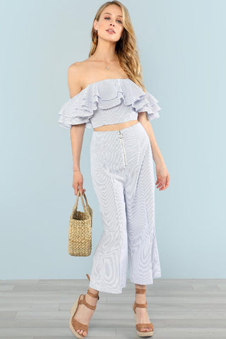 RING DETAIL WIDE LEG CAMI JUMPSUIT WITHOUT TEE