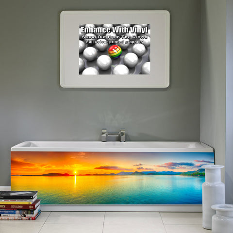 Bath panel - Full - Sunset panorama