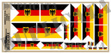 German Naval Ensign Flag (1956 - ) - 1/72, 1/48, 1/35, 1/32 Scales - Duplicata Productions