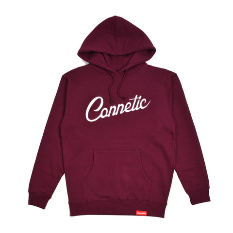 Script Embroidered Hoodie
