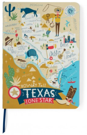 Spartina Texas Ruled Notebook