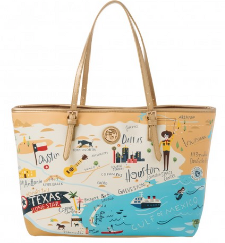 Texas Large Spartina Tote