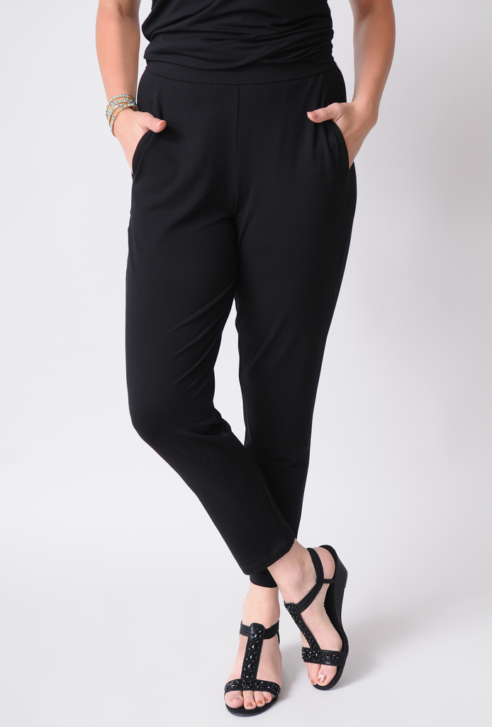 EILEEN FISHER Slim Ankle Slouchy Pant