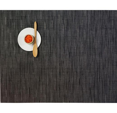 Chilewich, Bamboo Placemat - rectangle, Smoke- Placewares
