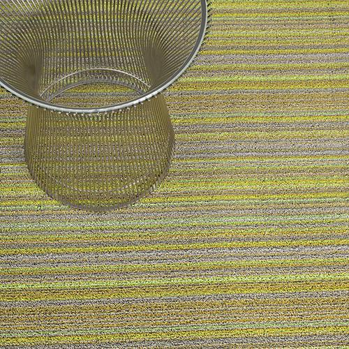 Chilewich, Skinny Stripe Shag Runner - multiple colors, Birch- Placewares