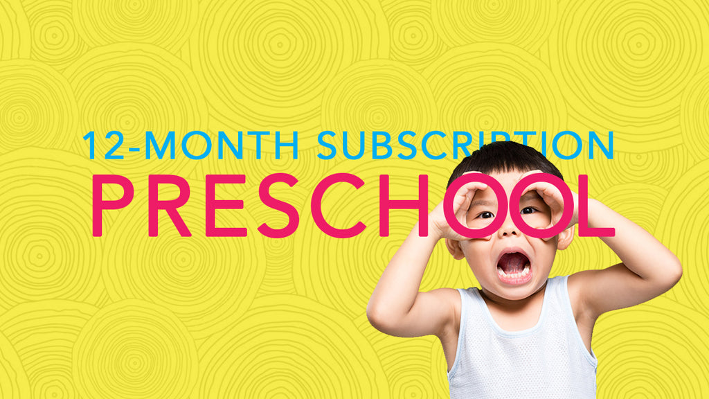 12-Month Subscription PRESCHOOL