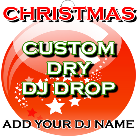 Christmas Dry DJ Drop - Spice Up