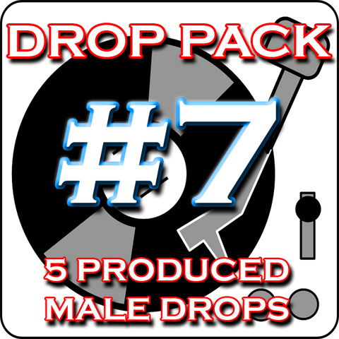 Custom Produced DJ Drop Pack #7 - Level Up