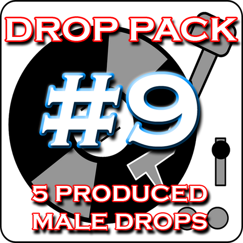 DJ Drops 24/7 - Custom DJ Drop Pack 9