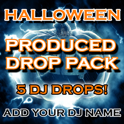 Halloween DJ Drops Package - Dead Inside