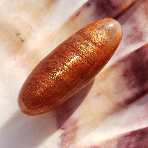 Rainbow Sunstone Small Palm Stone