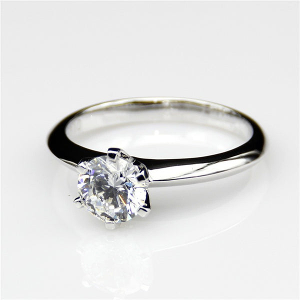 Flash Price Drop 6 Claw Solitaire Ring - Fine