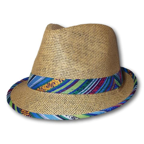Fedora With Aztec Trim