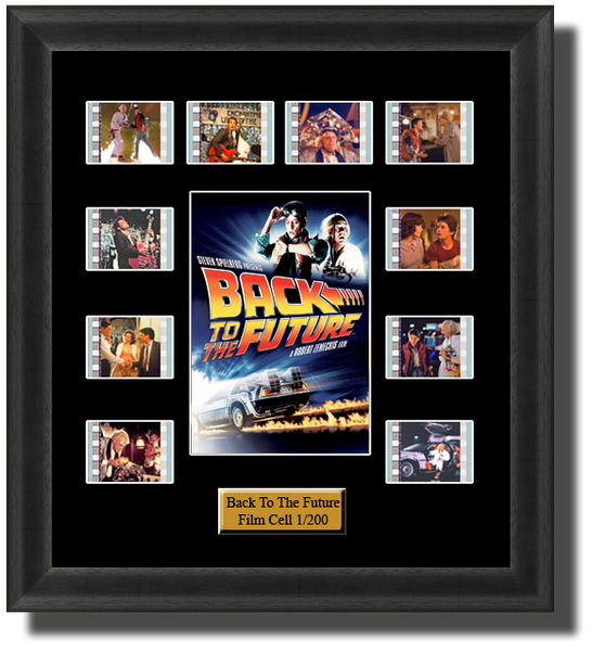 back to the future film cells