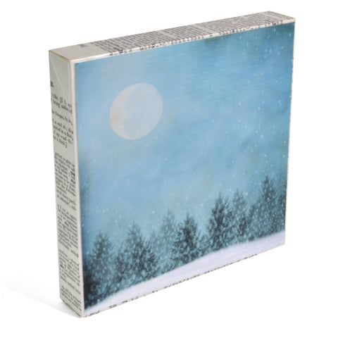 "MKC Photography Winter Dreams 5"" x 5"" Art Block - The Barrington Garage"