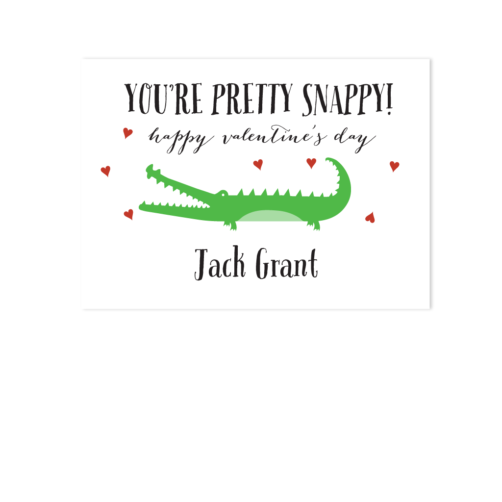 ALLIGATOR VALENTINES