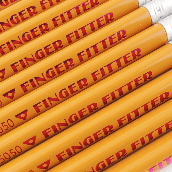 FINGER FITTER #2 PENCIL YELLOW