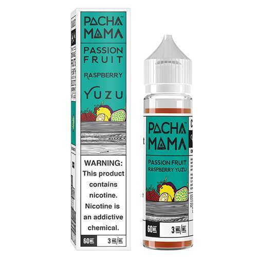 Pachamama E-Liquid - Passion Fruit Raspberry Yuzu