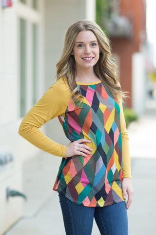Diamond Tunic - 3 Colors