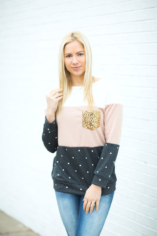 Sequin Pocket Tunic