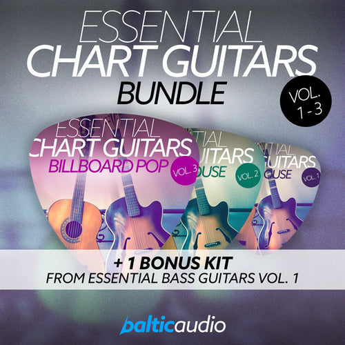 baltic audio Essential Chart Guitars Bundle (Vols 1-3)