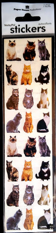 Paper House Mini Cat Stickers