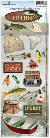 Paperhouse Cardstock Fishing Stickers
