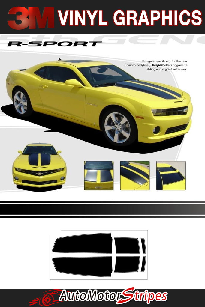 Chevy Camaro Vinyl Graphics | Camaro Stripe Kits for 2010-2015 Models