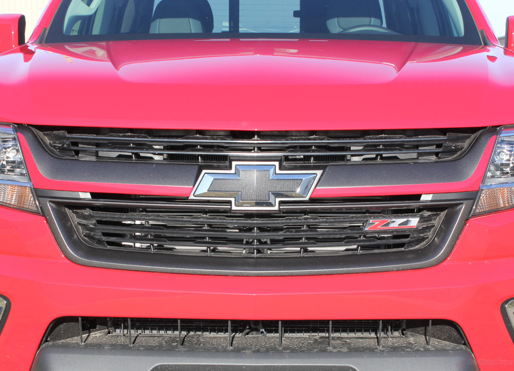 2015 2016 2017 2018 Chevy Colorado CRESTONE Grill Accent Vinyl Graphics 3M Stripes Kit