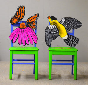 Butterfly Eyes Chair Set