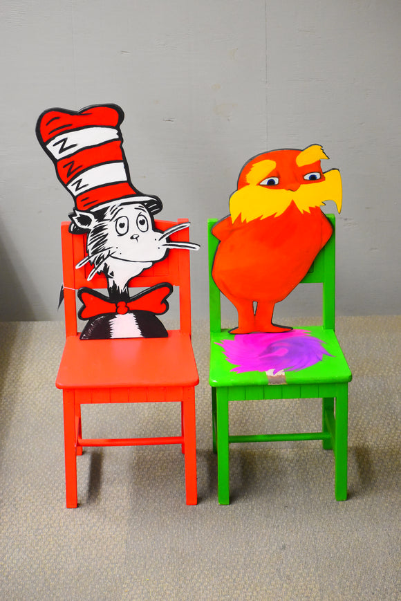 Dr. Seuss Chair Set