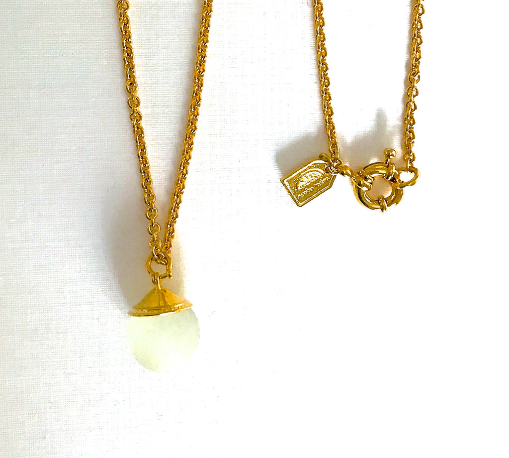 Boat Buoy Pendant Necklace