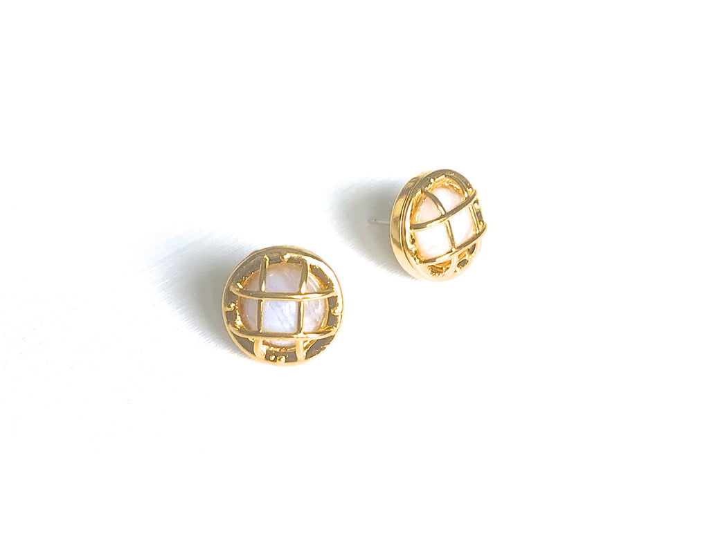 Beacon Stud Earrings