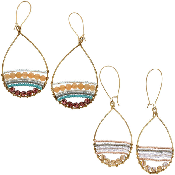 Sasa Merina Hoop Earrings