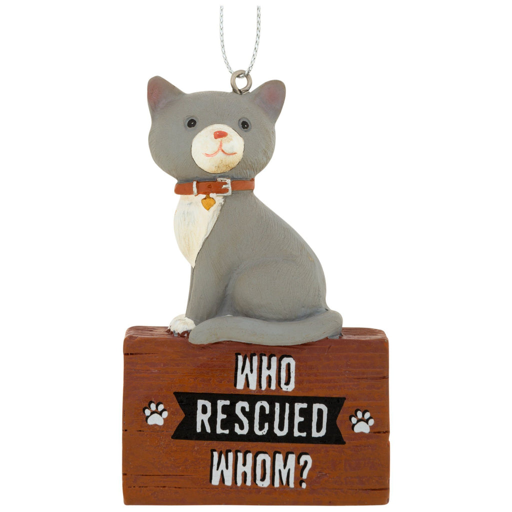 Who Rescued Whom Ornament