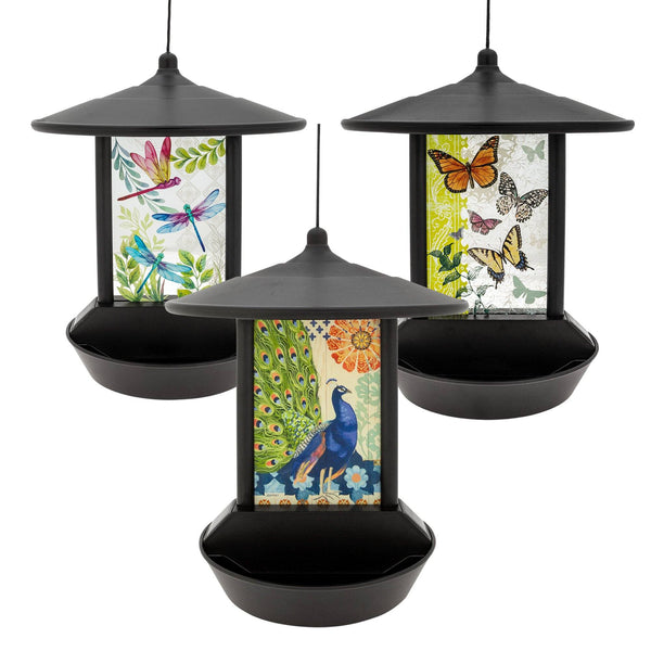 Wildlife Wonder Solar Light Bird Feeder