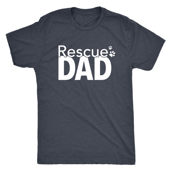T-shirt - Rescue Dad Triblend T-Shirt