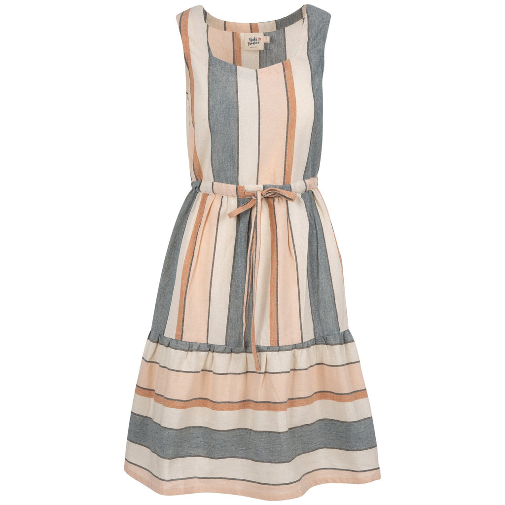 Pleasantly Pastel Striped Dress